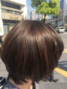 髪の赤味気になる-髪の赤味とりたい-赤味抹消-綺麗なアッシュ
