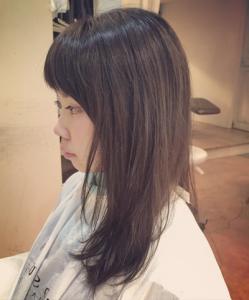 髪の赤味消したい-ヘアカラーうまい-広島美容院3